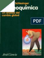 William Schlesinger - Bioquímica. Un Análisis Del Cambio Global (Cap 1 y 2)