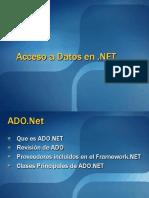 Acceso a Datos en .NET