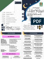 Buku Program Sambutan Hari Raya 2018