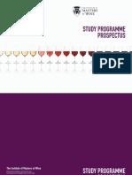 Mw Study Programme Prospectus 2018