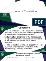 4.2 Measures of Correlation and Regression (1)