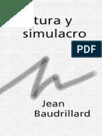 Baudrillard, Jean - Cultura y simulacro.pdf