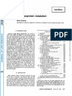 High Density Lipoprotein Metabolism