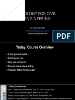 Geology for Civil Engineering(2)