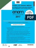 Inep 2017 Enem Exame Nacional Do Ensino Medio Primeiro e Segundo Dia Ppl Prova