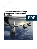The Great Delusion_ Liberal Dreams and International Realities