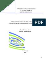 Formación Ciudadana y Desarrollo de Competencias