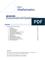Polynomials and Quadratics