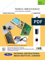 Electronic Mechanic (NSQF) - 1st SEM - Practical -WM