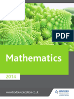 Maths Web 2014