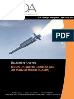 Equipment Analysis - MBDA UK and its Common Anti- Air Modular Missile (CAMM)
