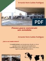 Armando Nerio Guédez Rodríguez -  Pasos Para Construir Un Establo