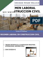 Régimen laboral Construcción Civil