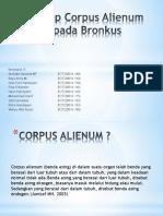 Askep Corpus Alienum Pada Bronkus