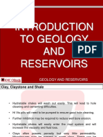 Introduction to Geology and Reservoirs
