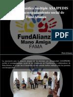 PetroAlianza - En Jornada Médica Múltiple ASAIPEDIS Recibió El Acompañamiento Social de FundAlianza