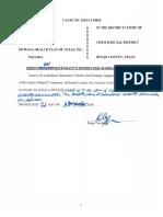 Hamblin v. Humana - Order denying Summary Judgment