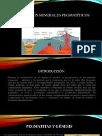 Yacimientos minerales pegmatiticos