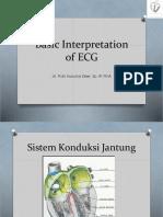 Basic Interpretation of ECG