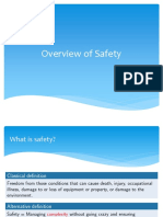 Overview of Safety