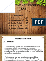 Narrative and Recound Text