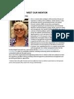 Dr. Ann Hayes Sutton CSO Mentor Profile