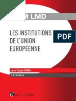 Partiels 2018 Lextenso Étudiant Jour 3 - L3 - Droit de l'Union européenne (Gualino - QCM LMD)
