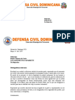 Carta Semana Santa Defensa Civil 13-5-2014