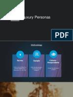 Luxury Buyer Persona Insights