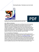 FIFA World Cup 2010 Marketing Roundup