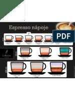 Espresso napoje