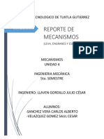 Reporte de Mecanismos workingmodel
