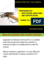 Research on Preparing Eot Application, Analyzing and Certification by Ar Ridha Razak