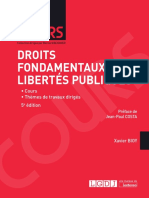 Partiels 2018 Lextenso Étudiant Jour 1 - L3 - Droit des libertés (LGDJ - cours)