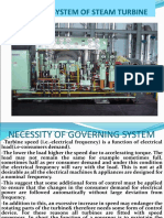 Governing System of Gas Turbine