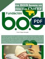 Víctor Vargas Irausquín - Fundación BOD Honra Su Cooperación Con UNICEF