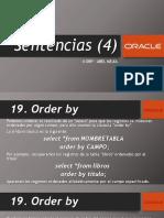Oracle 4