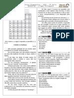 2ª P.D - 2018 (2ª ADA - 1ª etapa - Ciclo II) - PORT. 3ª Série - BPW.doc