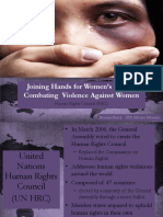 intro to violence against women