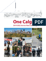 City of Calgary proposed service plans and budgets for 2019-2022