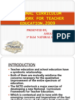 NATIONAL CURRICULUM FRAMEWORK FOR TEACHER EDUATION,2009ash.pptx