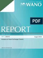 Analysis of Heat Exchanger Events