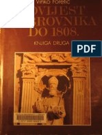 Vinko Foretic - Povijest Dubrovnika Do 1808. Godine - Knjiga 2