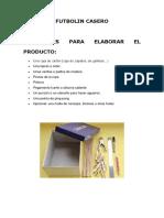 FUTBOLIN CASER1