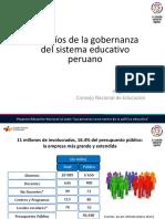 Hugo Díaz - Desafíos de la gobernanza del sistema educativo peruano