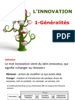 Innovation Définition