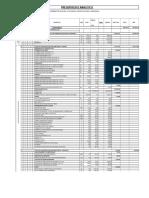 Analitico de Obra Pavimentacion Grande