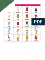 Tablero de Comunicacion Alimentos