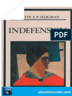 Seligman Sobre el problema de la indefension