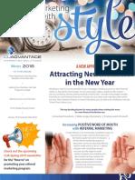 CUAdvantage Newsletter - Winter 2018